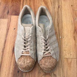 Adidas Superstar Suede& Cork Sneakers